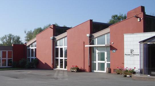 Sídlo spoločnosti Pierre Lannier vo Francúzsku
