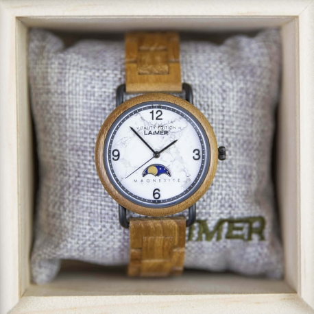 Drevené hodinky Gerlinde