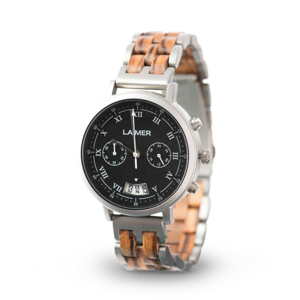 Drevené hodinky Leon