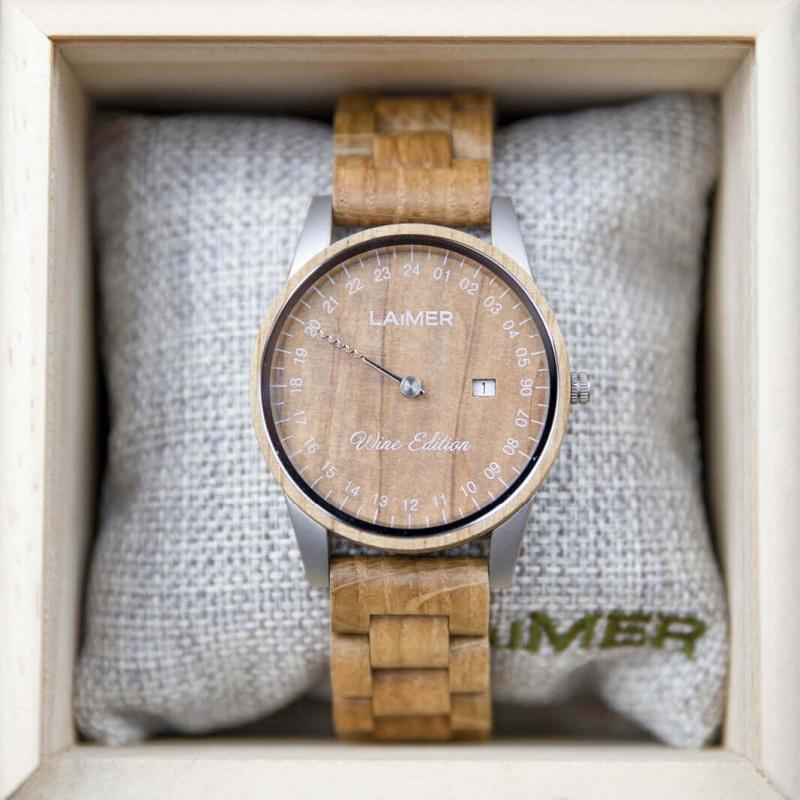 Drevené hodinky Wine Edition Men